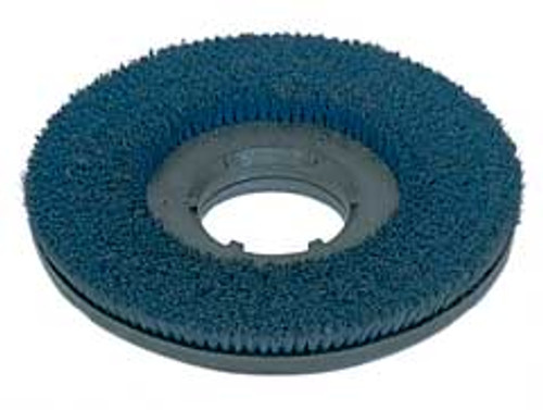 Mercury 1707 floor buffer scrub brush blue .035 nylon 180 grit cleangrit 15 inch block fits most 17 inch floor buffers includes type b 92 universal clutch plate