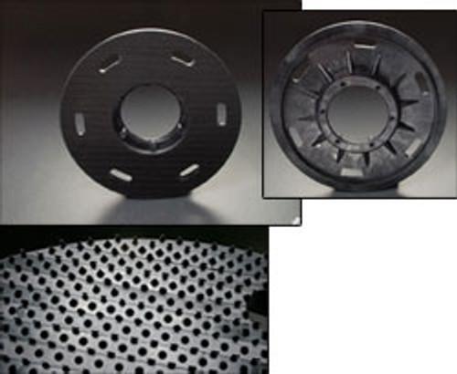 Mercury 1909 floor buffer flex pad holder plastic hook face for 19 inch high speed buffers high speed buffers 17 inch block