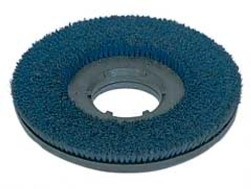 Mercury 2107 floor buffer scrub brush blue .035 nylon 180 grit cleangrit 19 inch block fits most 21 inch floor buffers includes type b 92 universal clutch plate