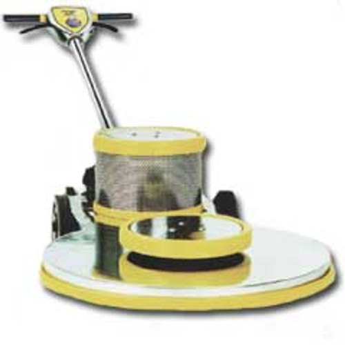 Mercury Ultra DC DC212000 floor buffer burnisher machine high speed 21 inch 1.5 hp 2000 rpm pad holder and pad centering device included