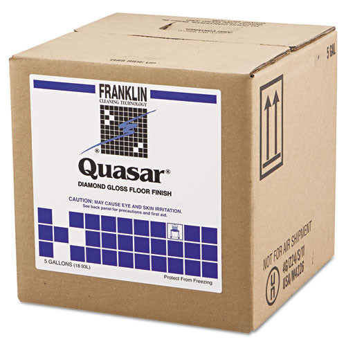 Franklin fklf136025 quasar floor finish 25 per cent solids 5 gallon cube replaces frkf136025
