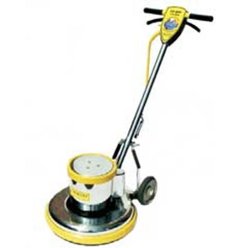 Mercury LoBoy L21E floor buffer scrubber machine super heavy duty 21 inch 175 rpm 1.5 hp electric