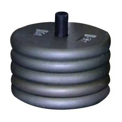 Mercury UWK Unicorn weight set for floor buffers five 10 lbs weights and mounting hardware