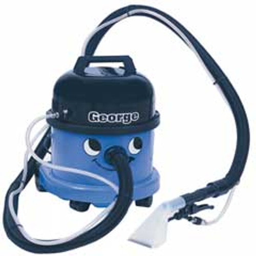 NaceCare GVE370 George Carpet Spot Extractor 899557 canister 1.6 gallon 4 inch hand tool 10 foot hose kit 30psi pump