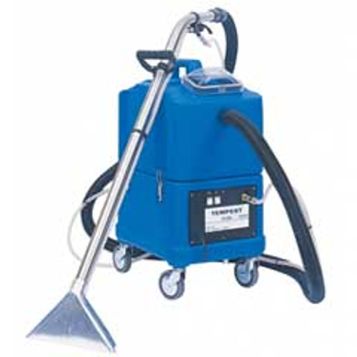 NaceCare TP8X Tempest Carpet Extractor 8025155 canister 8 gallon premium 2 jet stainless steel wand 20 foot hose kit 130psi pump