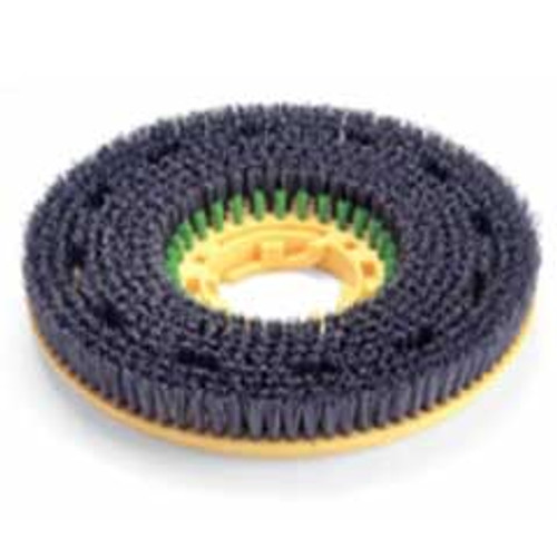 NaceCare 606306 green coded grit brush for NS17 floor buffer TT3450 and TTB3450 autoscrubber