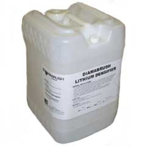 Diamabrush lithium densifier 905d for stone floor care 5 gallon pail by Malish