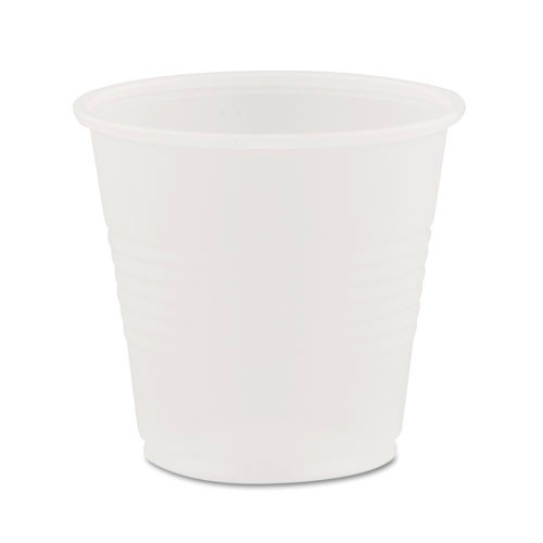 Dart Conex cold cups 3.5oz cup translucent case of 2500 replaces dcc35n25, DCCY35