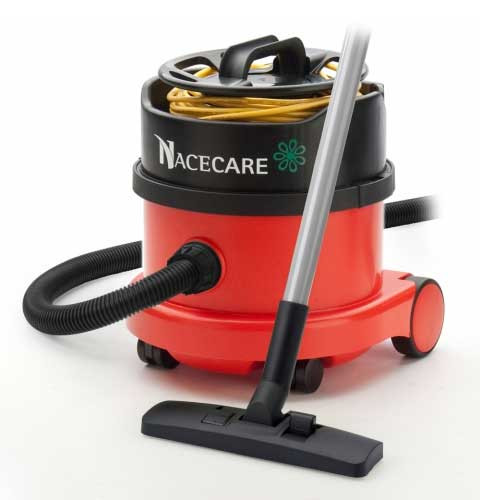 NaceCare PSP200 dry canister vacuum with AH1 performance tool kit 2.5 Gallon 0.9 hp 900778