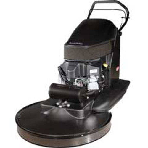 Pioneer Eclipse Propane Buffer Dust Collection 440 Series Kawasaki 18hp 21 inch with pad holder clutch emissions shutdown 2000 rpm 12 volt battery start 440bu21
