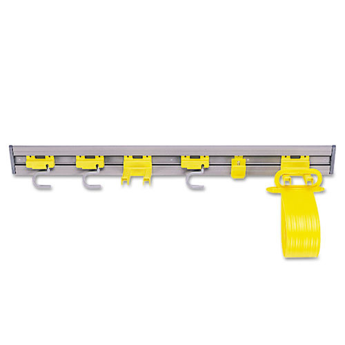 Rubbermaid 1993gra closet organizer tool holder gray 34 inch replaces rcp1993gra rcp199300gy