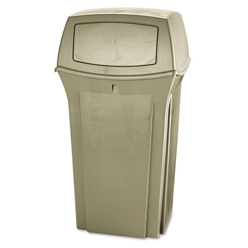 Rubbermaid 843088bei Ranger trash cans 35 gallon Ranger container beige replaces rcp843088bei rcp843088bg