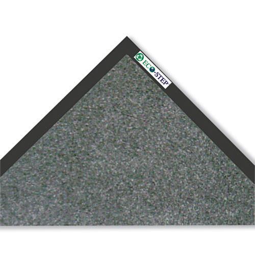 Door mat indoor wiper safety mat eco step floor mat 3x10 charcoal replaces croet310cha Crown cwnet0310ch