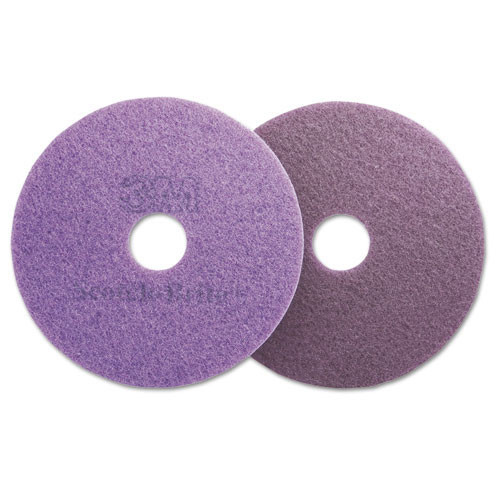 3M 23894 Purple floor pads MMM23894 20 inch 3000 diamond grit for polishing stone marble granite concrete case of 5 pads replaces MCO23894