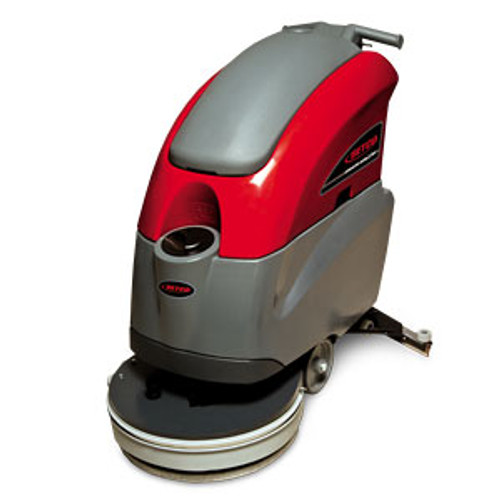 Betco E8702800 Stealth ASD20BT automatic floor scrubber traction drive 20 inch 10 gallon with two 12v 130ah wet batteries 12amp external charger