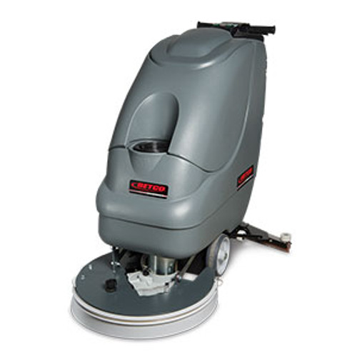 Betco E8302500 Crewman AS20B automatic floor scrubber 20 inch 11 gallon with two 12v 130ah wet batteries 12amp charger