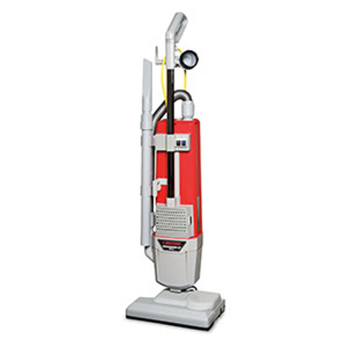 Betco E2999000 Powerup14 vacuum dual motor upright HEPA with onboard tools