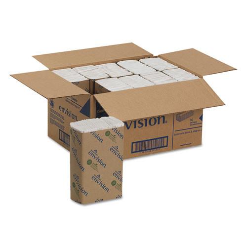 Georgia Pacific GPC25190 cfold paper towel 10.25wx13.25h white 240 pack 10 packs carton