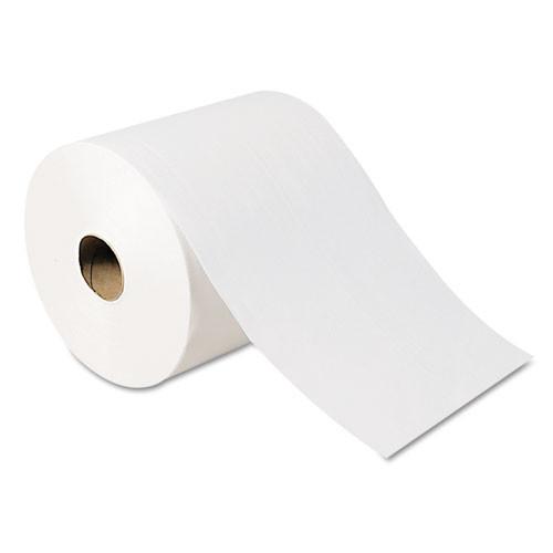 Georgia Pacific GPC26100 high capacity nonperf paper towels 7 .875x1000ft white 6 rolls per carton