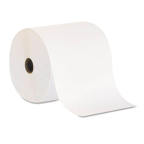 Georgia Pacific GPC26601 nonperforated paper towel rolls 7 .875x800ft white 6 rolls per carton