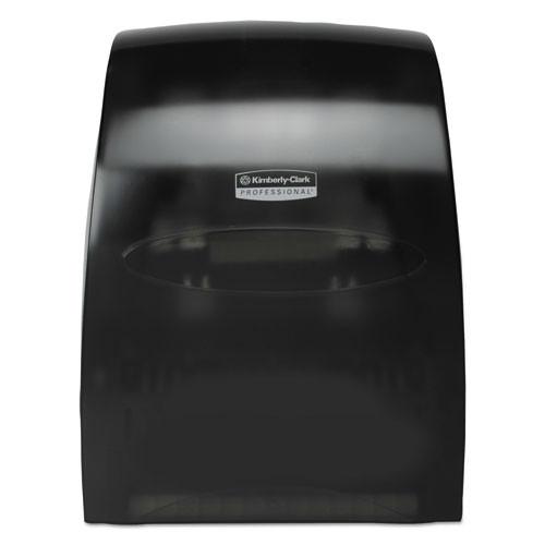 Kimberly Clark KCC09996 sanitouch hard roll towel dispenser 12.63wx10.2dx16.13h smoke