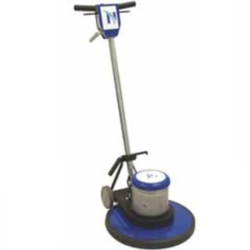 NaceCare NA20SS Floor Buffer Scrubber Machine 8025239 20 inch 175 rpm 1.5 hp with premium pad holder