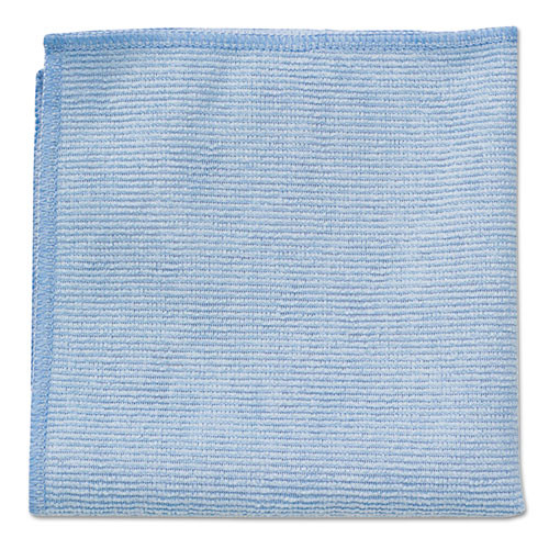 Rubbermaid RCP1820583 microfiber cleaning cloths 16x16 blue