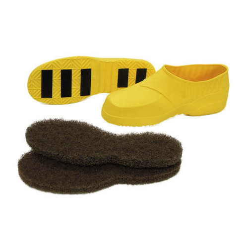 Gripper stripping and non slip shoes small for shoe size 6 to 8 1 pair yellow C408001 gw