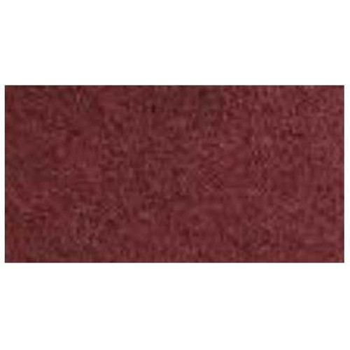 Redwood Maroon Strip Floor Pads 18x26 inch x .250 inch thick rectangular dry strip or wood floor recondition pads 175 to 300 rpm case of 10 pads by ETC 941826 GW