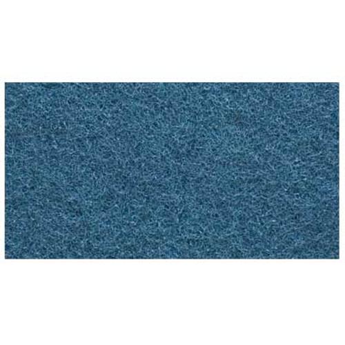 Hawk A00672014CS Floor Buffer Pads Blue Scrub 14x20 inch standard 175 to 300 rpm case of 5 Pads