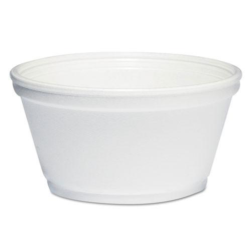 Squat container dart foam 8 oz extra squat case of 1000