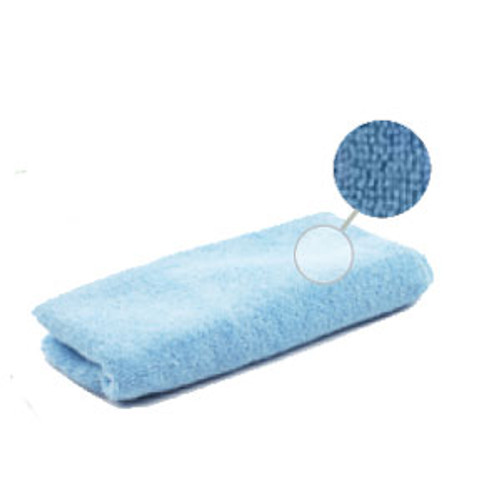 Microfiber Cleaning Cloths Blue All Purpose Microfiber Cloth 16x16 Inches case of 12 Lambskin MfcAp25612D