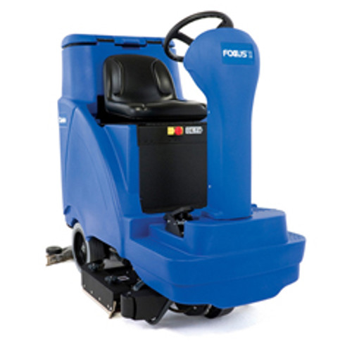 Clarke Focus2 34 Disc Rider Floor Scrubber 56114031 34 inch 420ah wet battery shelf charger 31 gallon with traction drive