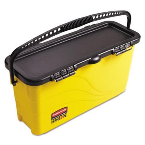 Rubbermaid 1791802 hygen microfiber clean water system microfiber top down charging bucket