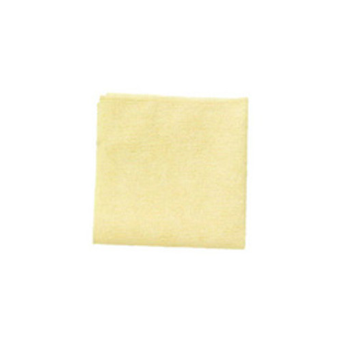 Rubbermaid 1820584 microfiber cleaning cloths yellow 16x16 inch case of 24 cloths