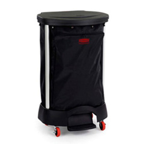 Rubbermaid 6350bla hotel maids housekeeping bag for step on premium linen hamper hamper sold separately