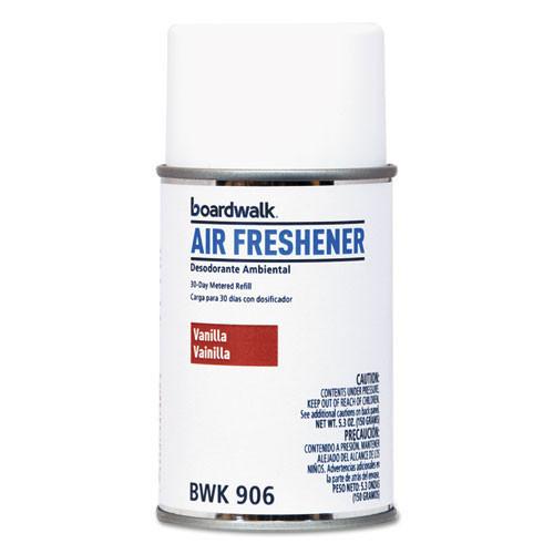 Boardwalk automatic air freshener refills Vanilla Twist 5.3oz size case of 12 replaces BLT865 BOL865 BWK906