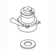 Nilfisk FP324 vacuum motor kit 1ea. 5.7 2 for Clarke Viper A