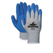 Foam Nylon Gloves Memphis Flex Seamless CRW96731XL
