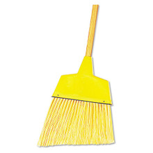 Boardwalk BWK932ACT Angle Broom plastic bristles wood h