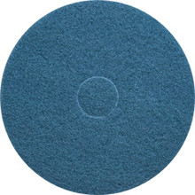 Blue Scrub Floor Pads 17 inch standard speed up to 350 rpm c