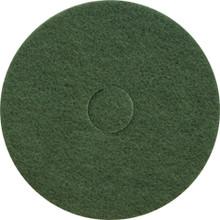 Green Scrub Floor Pads 17 inch standard 17GREEN
