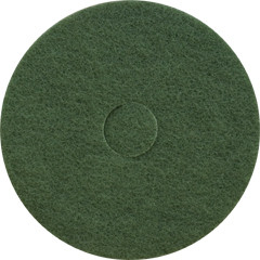 Green Scrub Floor Pads 17 inch standard speed up to 350 rpm