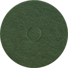 Green Scrub Floor Pads 13 inch standard speed up to 350 rpm