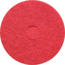 Red Floor Pads Clean and Buff 13 inch standard speed up to 8