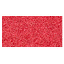 Red Floor Pads Clean and Buff 14x28 inch rectangle standard