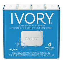 Ivory Bar Soap White Regular 4oz size ca PGC82757