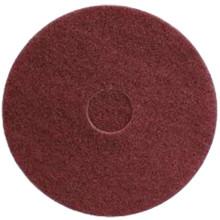 Maroon Strip Floor Pads 12 inch standard 12MAROON