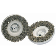 Koblenz 4502332 6 inch Scrub Brushes Metal Hub 8 Notch
