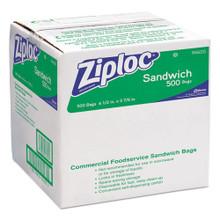 Ziploc Sandwich Bags Ziploc case of 500 DVO94600